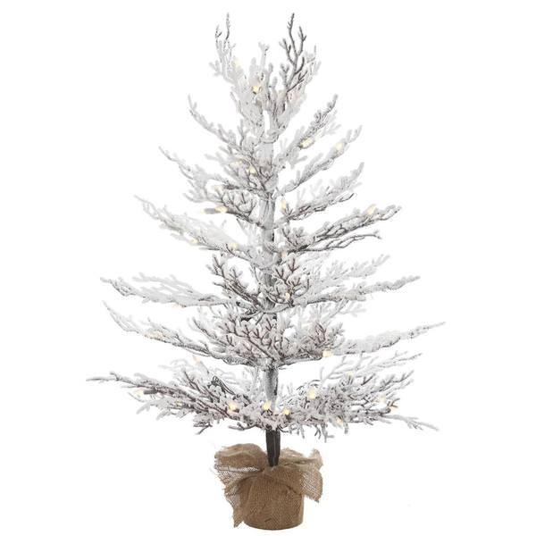 Miniature Pre Lit Christmas Trees