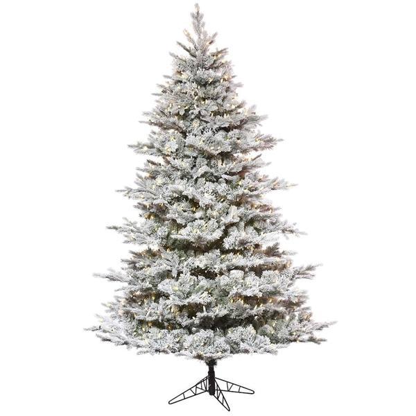 Vickerman 498361 - Flocked Christmas Tree