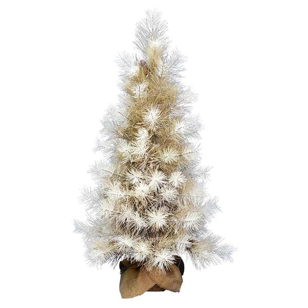 cheap for discount 2f01f be962 Vickerman 554159 - 4' Frosted Japanese White Pine Christmas Tree (D184540)