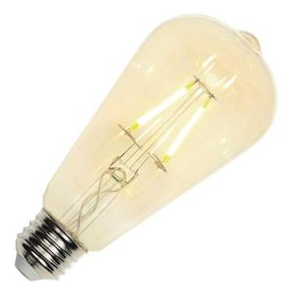 Westinghouse 40w Equivalent Amber St20 Dimmable Filament: Edison Style Antique Light Bulb