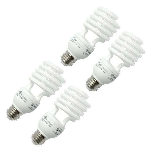 Cvmore LED 6 Watt 3 Pack Of Screw Light Bulbs