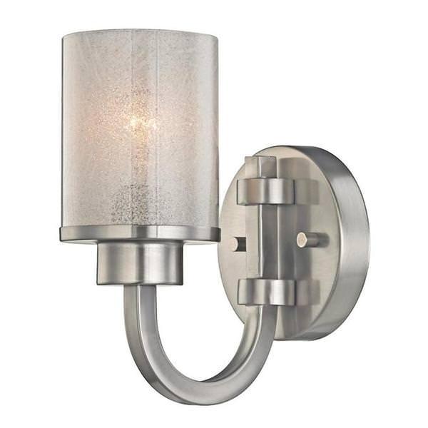 1 Light Brushed Nickel Wall Fixture