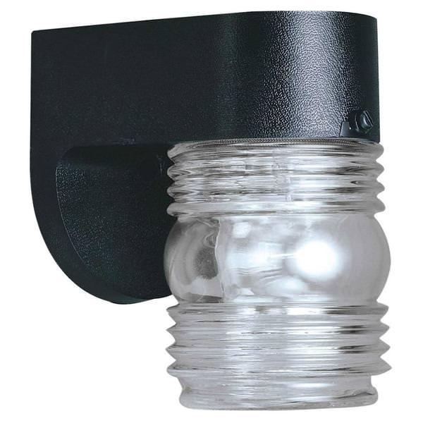 Westinghouse 66800 1 Light Black Wall Light Fixture