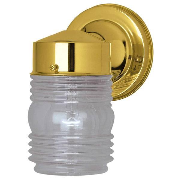 westinghouse 66884 outdoor jelly jar light fixture. Black Bedroom Furniture Sets. Home Design Ideas
