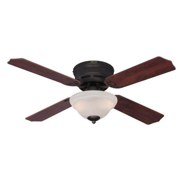 42 2 Light Reversible Four Blade Indoor Ceiling Fan